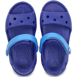 Sandale Crocs pentru copii Crocband Sandal Kids albastru 12856 4BX 1