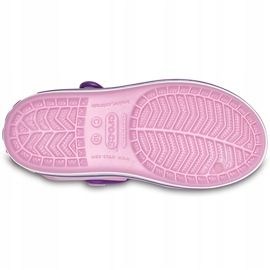 Sandale Crocs pentru copii Sandale Crocband Copii roz deschis-violet 12856 6AI 5