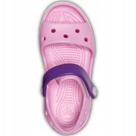 Sandale Crocs pentru copii Sandale Crocband Copii roz deschis-violet 12856 6AI 1