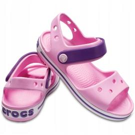 Sandale Crocs pentru copii Sandale Crocband Copii roz deschis-violet 12856 6AI 2