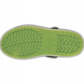 Sandale Crocs pentru copii Sandale Crocband pentru copii verde și gri 12856 3K9 5