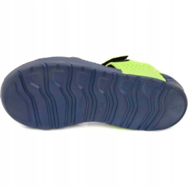 Papuci de piscină Aqua-speed Noli pentru copii, bleumarin și verde col. 48 albastru marin 3