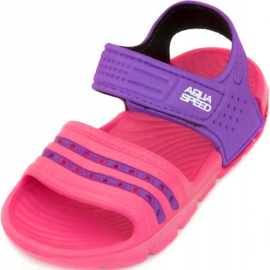 Papuci de piscină copii Aqua-speed Noli roz-violet col. 39 2