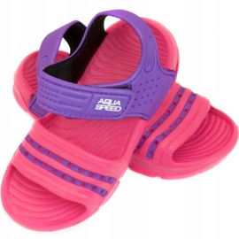 Papuci de piscină copii Aqua-speed Noli roz-violet col. 39 1