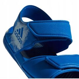 Sandale pentru copii Adidas Alta Swim C BA9289 albastru 5