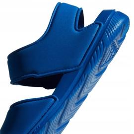 Sandale pentru copii Adidas Alta Swim C BA9289 albastru 6