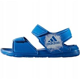 Sandale pentru copii Adidas Alta Swim C BA9289 albastru 4