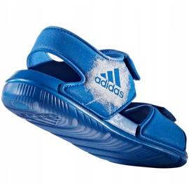 Sandale pentru copii Adidas Alta Swim C BA9289 albastru 3