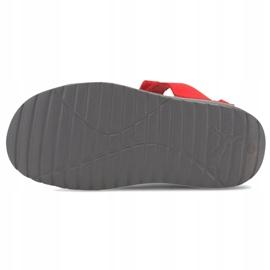 Sandale pentru copii Puma Divecat v2 Injex Ps gri-roșu 369546 05 5