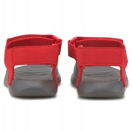 Sandale pentru copii Puma Divecat v2 Injex Ps gri-roșu 369546 05 4