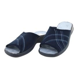 Befado pantofi pentru femei pu 442D147 albastru 3