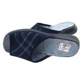 Befado pantofi pentru femei pu 442D147 albastru 5