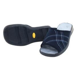 Befado pantofi pentru femei pu 442D147 albastru 4