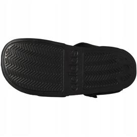 Sandale negre Adidas Adilette Sandal K pentru copii G26879 negru 6