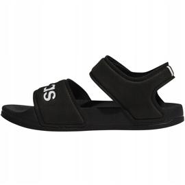 Sandale negre Adidas Adilette Sandal K pentru copii G26879 negru 2