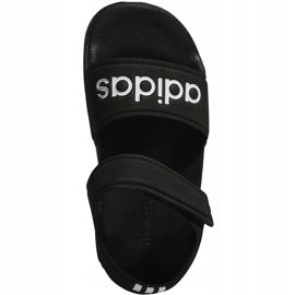 Sandale negre Adidas Adilette Sandal K pentru copii G26879 negru 1
