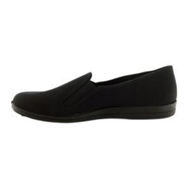 Black slip-on papuci Befado 001M060 negru 2