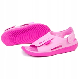 Sandale Nike Sundray Adjust 5 Jr AJ9076-601 negru roz 1