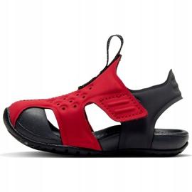 Sandale pentru copii Nike Sunray Protect 2 roșu 943827 603 negru 1