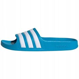 Papuci Adidas adilette Aqua K FY8071 negru albastru 1