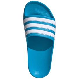 Papuci Adidas adilette Aqua K FY8071 negru albastru 2