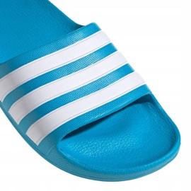 Papuci Adidas adilette Aqua K FY8071 negru albastru 3