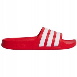 Papuci Adidas Adilette Aqua FY8066 roșu albastru marin 1
