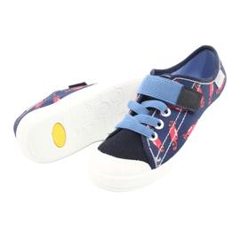 Încălțăminte pentru copii Befado 251X160 roșu bleumarin albastru 4