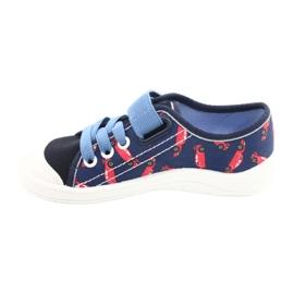 Încălțăminte pentru copii Befado 251X160 roșu bleumarin albastru 2