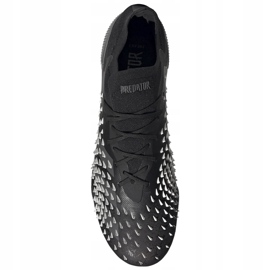 Ghete de fotbal Adidas Predator Freak.1 L Fg FY1028 negru negru 2