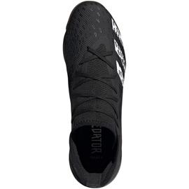 Ghete de fotbal Adidas Predator Freak.3 În FY1032 negru negru 2