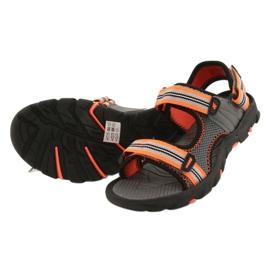 Sandale pentru băiat 4F multicolor HJL20 JSAM003 90S gri 6