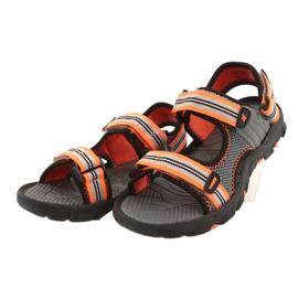 Sandale pentru băiat 4F multicolor HJL20 JSAM003 90S gri 5