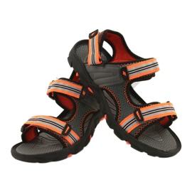 Sandale pentru băiat 4F multicolor HJL20 JSAM003 90S gri 7
