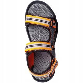 Sandale pentru băiat 4F multicolor HJL20 JSAM003 90S gri 2