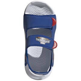 Sandale adidas Swim Sandal C Jr FY8938 albastru marin 3