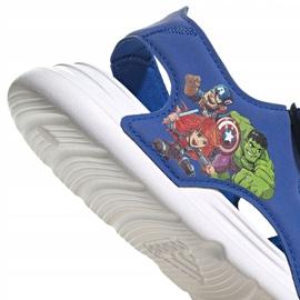 Sandale adidas Swim Sandal C Jr FY8938 albastru marin 5