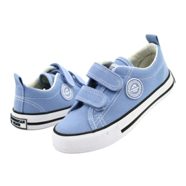 Adidași albaștri americani American Club LH64 / 21 albastru 3