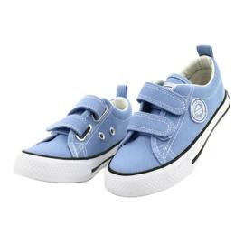 Adidași albaștri americani American Club LH64 / 21 albastru 1
