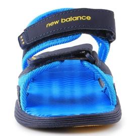 Sandale New Balance Sandal pentru copii pentru copii K2004NBL albastru marin albastru 1