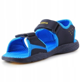 Sandale New Balance Sandal pentru copii pentru copii K2004NBL albastru marin albastru 2