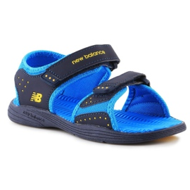 Sandale New Balance Sandal pentru copii pentru copii K2004NBL albastru marin albastru 3