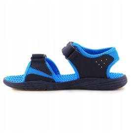 Sandale New Balance Sandal pentru copii pentru copii K2004NBL albastru marin albastru 4