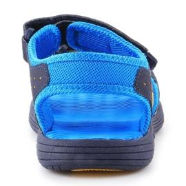 Sandale New Balance Sandal pentru copii pentru copii K2004NBL albastru marin albastru 5