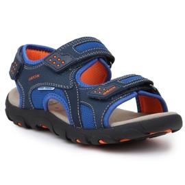 Sandale Geox S Strada B Jr J9224B-014CE-C0659 albastru marin albastru 3