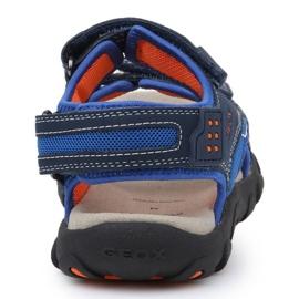 Sandale Geox S Strada B Jr J9224B-014CE-C0659 albastru marin albastru 5