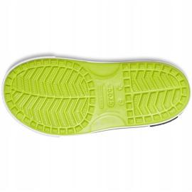 Sandale Crocs pentru copii Crocband Ii Sandal lime-black 14854 3T3 verde 3