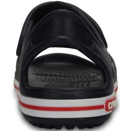 Sandale Crocs pentru copii Crocband Ii Sandal bleumarin-alb 14854 462 albastru marin 2