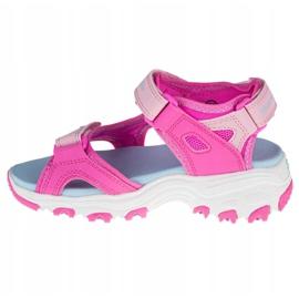 Skechers D'Lites Jr 664133L-HPMT roz 1