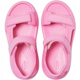 Sandale Crocs pentru copii Swiftwater Expedition roz 206267 6M3 1
